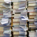 Photo, gestapelte Bücher